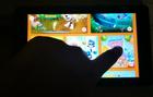 tablet finger